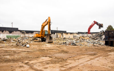 Outlet Mall Annex Demolition Shows Progress
