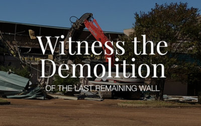 Watch the Last Wall Come Down! Thursday 3/1 2018