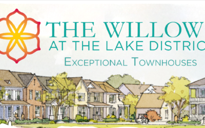 THE LAKE DISTRICT UNVEILS LAND WHERE THE WILLOWS, MEMPHIS' HIGHLY-ANTICIPATED TOWNHOUSE COMMUNITY, TO BE BUILT.